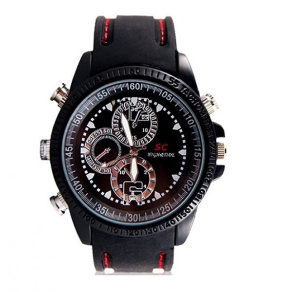 e19769c9b Sportovní hodinky s kamerou / kamera v hodinkách s interní pamětí 4GB. Úvod  · Špionážní kamery · Mikro ...
