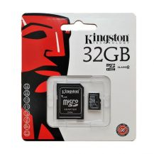KINGSTON MicroSDHC 32Gb + adaptér