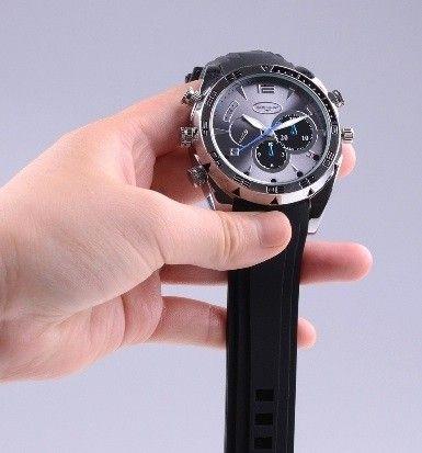 3ebaebe21 Elegantní hodinky s kamerou, kamera v hodinkách, 1080P, 8GB, IČ  přisvětlení. Úvod · Špionážní kamery · Mikro ...